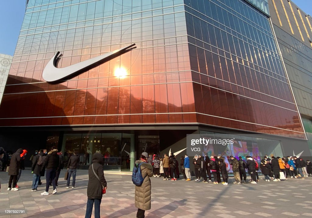 Nike Opens New Flagship Store In Beijing : News Photo