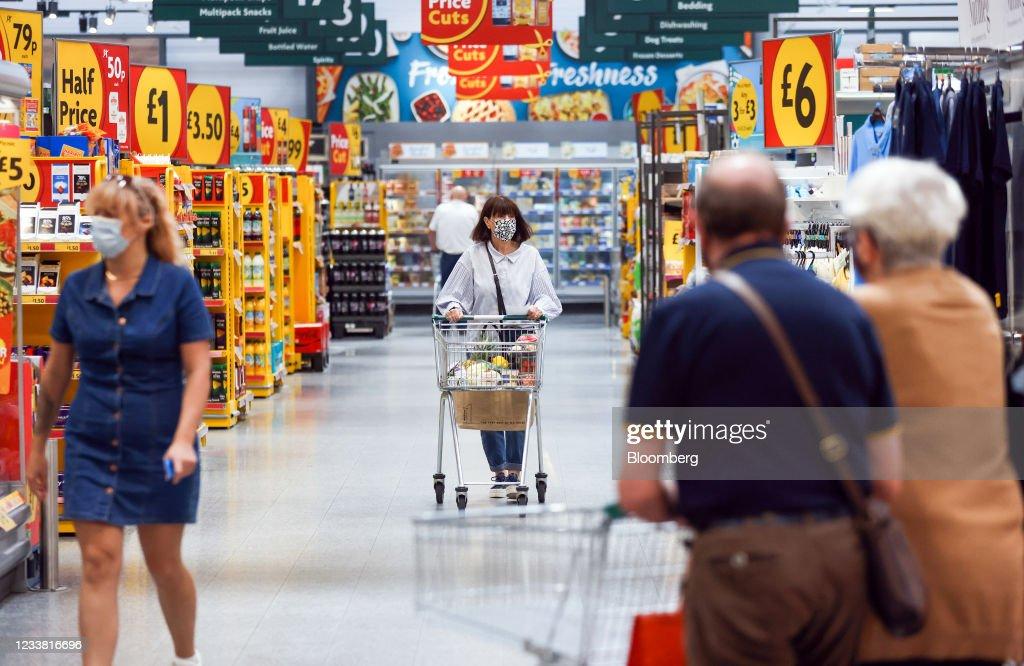 Wm Morrison Supermarkets Plc Takeover Battle Heats Up : News Photo