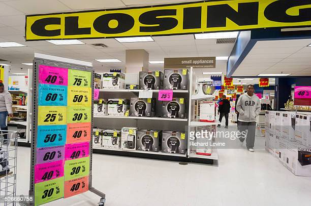 Customers search for bargains at the soon to be closing Sears store in the New York borough of the Bronx Sears Holdings announced that thirdquarter...
