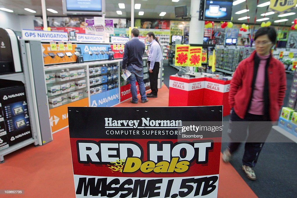 Customers Shop At A Harvey Norman Holdings Ltd. Retail Store In Sydney,  Australia,