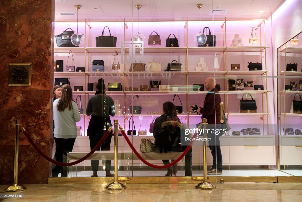 Ivanka Trump Fashion Brand Opens Store In Trump Tower