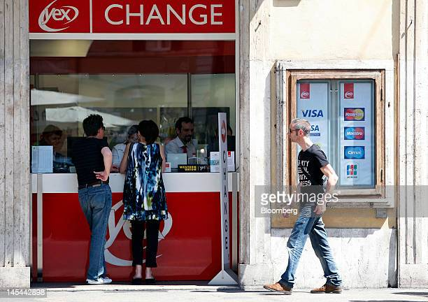 Currency Exchange Rates As Euro Falls To Two Year Low Against Dollar