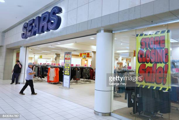 A customers walks into the Sears store that is closing on September 5 2017 in Provo Utah The Sears store which has been open for decades in Provo is...