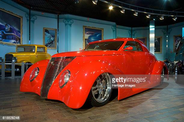 Customised Ford on display in National Motor Museum. Artist Unknown.