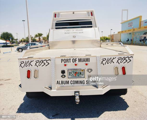 Customized Rick Ross Freightliner