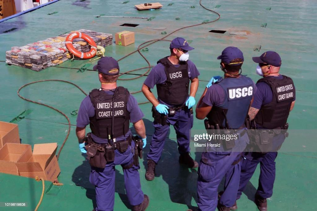 Customs and Border Protection, with the Coast Guard, found 2,000