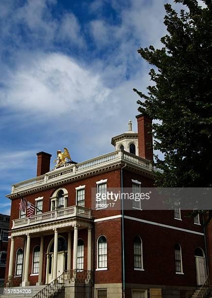 customs house salem massachusetts - salem massachusetts stock pictures, royalty-free photos & images