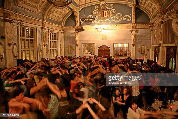 A Cut A Shine Ceilidh dance held in the Great Hall of the Old Finsbury Town Hall Built in 1895 this listed building has been restored to its former...