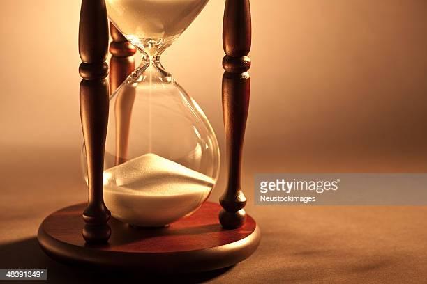 カットの画像時間のガラス - 遅い ストックフォトと画像