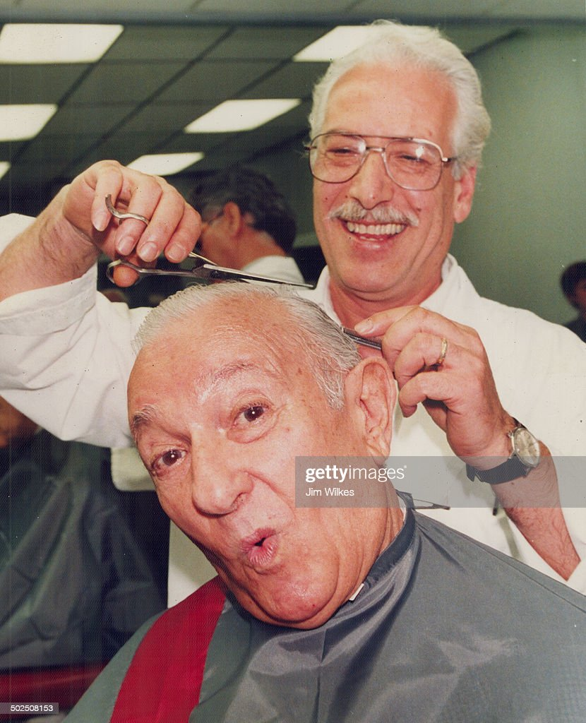 Cut it out  Honest Ed Mirvish gets the first haircut in Gus Angelakos  new 7a5f7767b