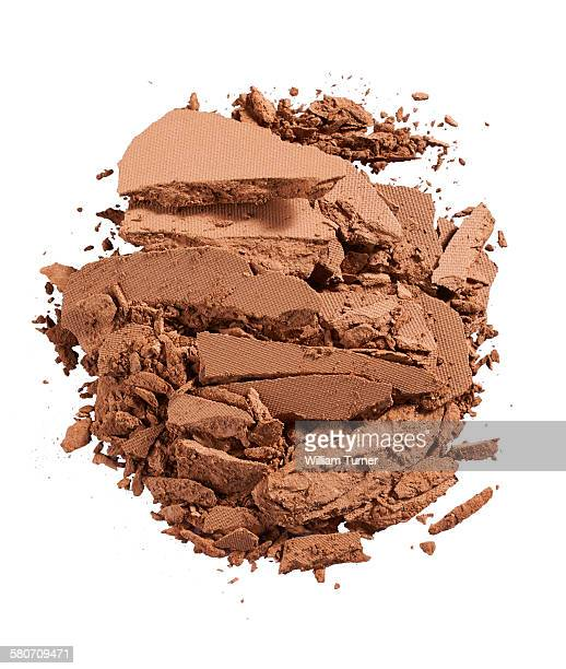 A cut out beauty product shot of bronzer