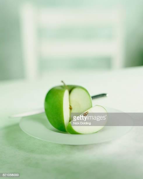 Cut up apple