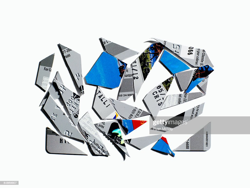 Cut Up Credit Card High-Res Stock Photo - Getty Images
