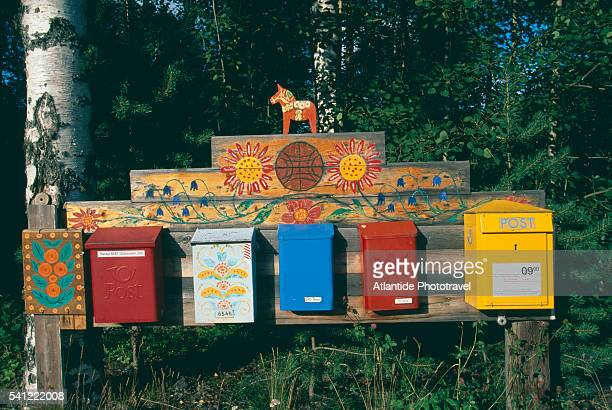 Cute and Colorful Mailboxes