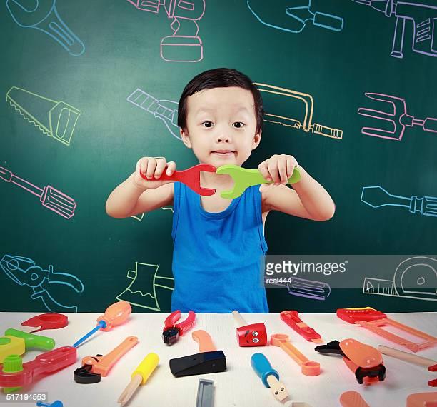 Crianças Cute Ásia