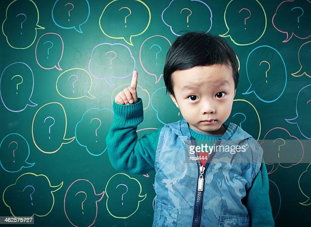 cute asian baby - blackboard visual aid stock pictures, royalty-free photos & images