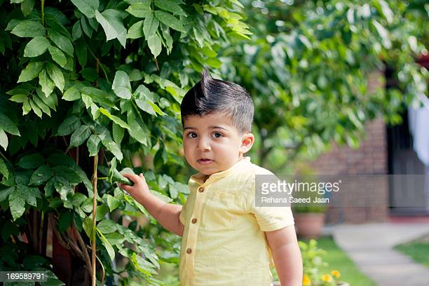 cute baby boy - cute pakistani boys stock photos and pictures