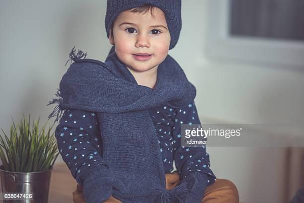 Linda niño bebé