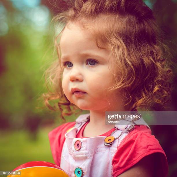Hairstyles For Toddlers With Curly Hair Stock Pictures Royalty Free Photos Images Getty Images