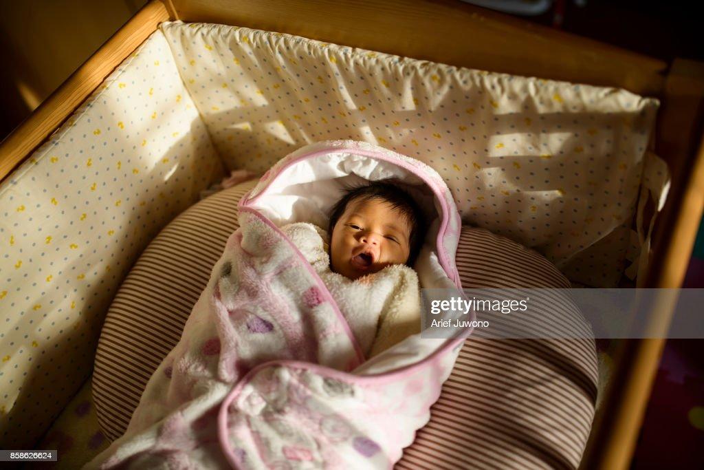 Cute Baby : Stock-Foto