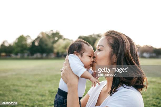 cute baby - filipino family stock pictures, royalty-free photos & images