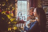 child home christmas eve