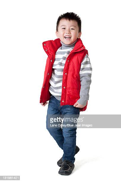 cute chinese boy - warm clothing stock pictures, royalty-free photos & images