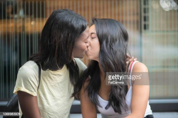Black Lesbian Seduces Teen