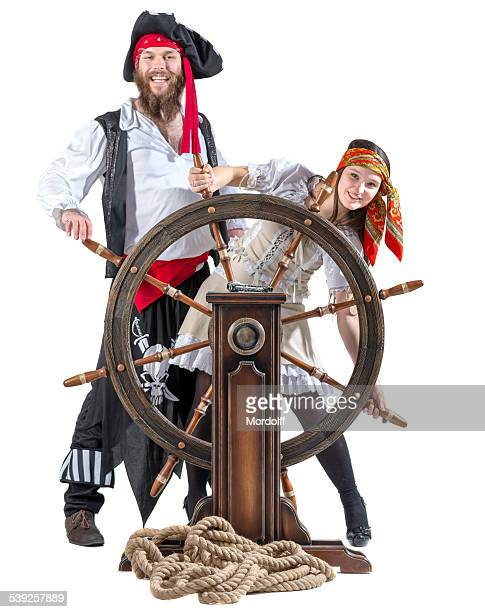 Joli couple pirates
