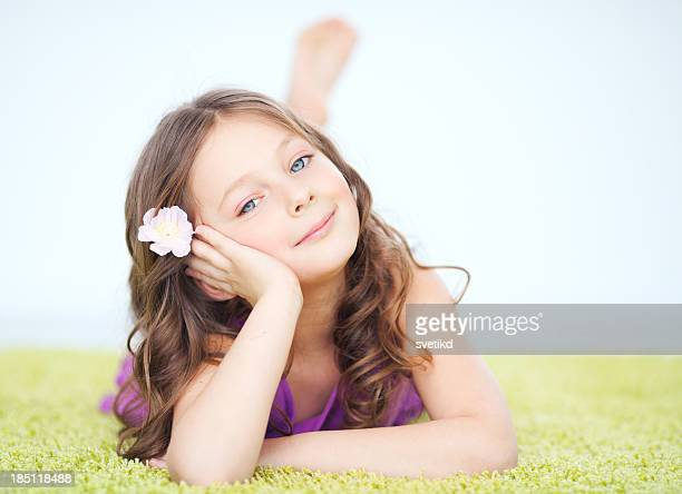 cute girl. - young tiny girls stock photos and pictures