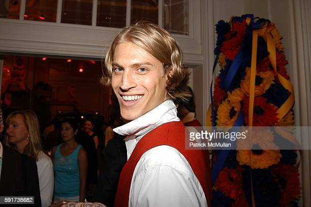 Cute guy attends Madonna Childrens Book Lotsa de Casha published by Callaway Arts and Entertainment at Bergdorf Goodman on June 7 2005 in New York...