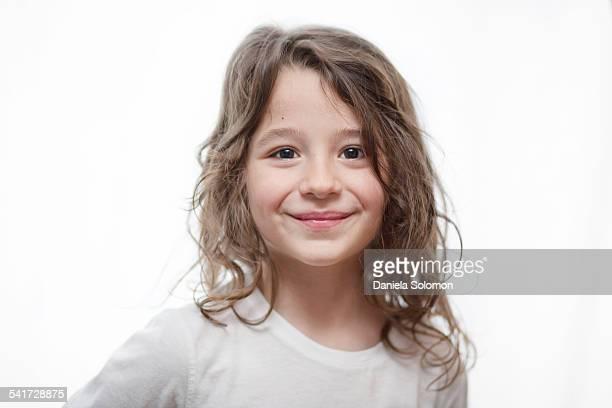 Cute happy boy smiling