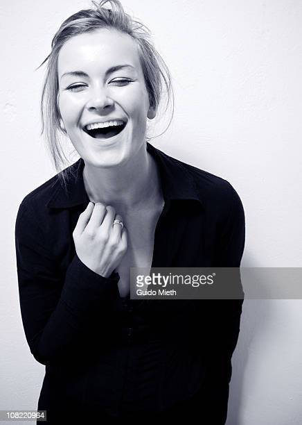 Cute happy laughing girl