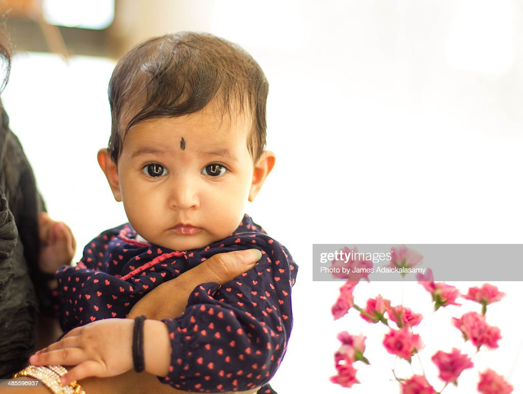 cute indian baby girl stock photo | getty images