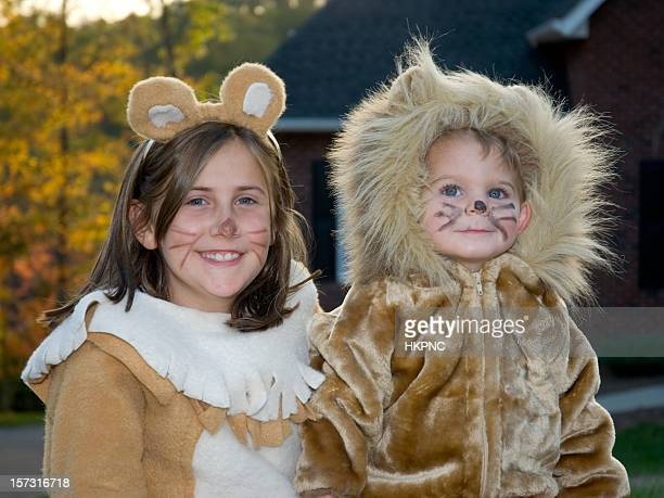 Cute Lion Halloween Costumes, Boy & Girl Trick Or Treating