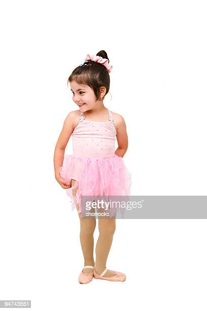 かわいい小さなバレリーナ