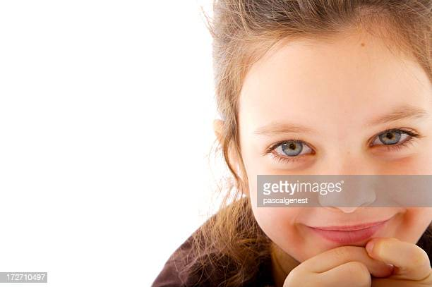 cute little girl looking at the camera - girls flashing camera stock pictures, royalty-free photos & images