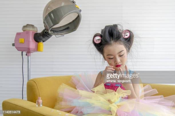 Little Girl Playing With Herself Stock Pictures, Royalty -7030