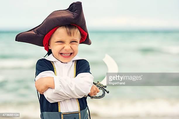 Süße kleine Pirat