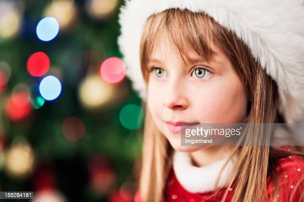 Süße kleine santa helper