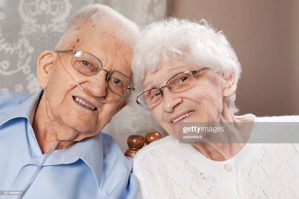 Cute Senior Couple : Stock Photo
