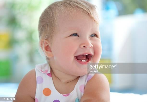 Süß lächelnden Babys.