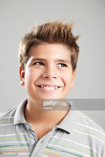 Cute smiling boy.