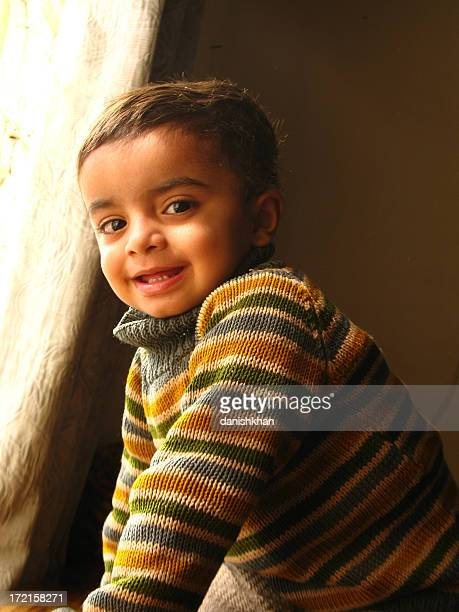 cute toddler - cute pakistani boys stock photos and pictures