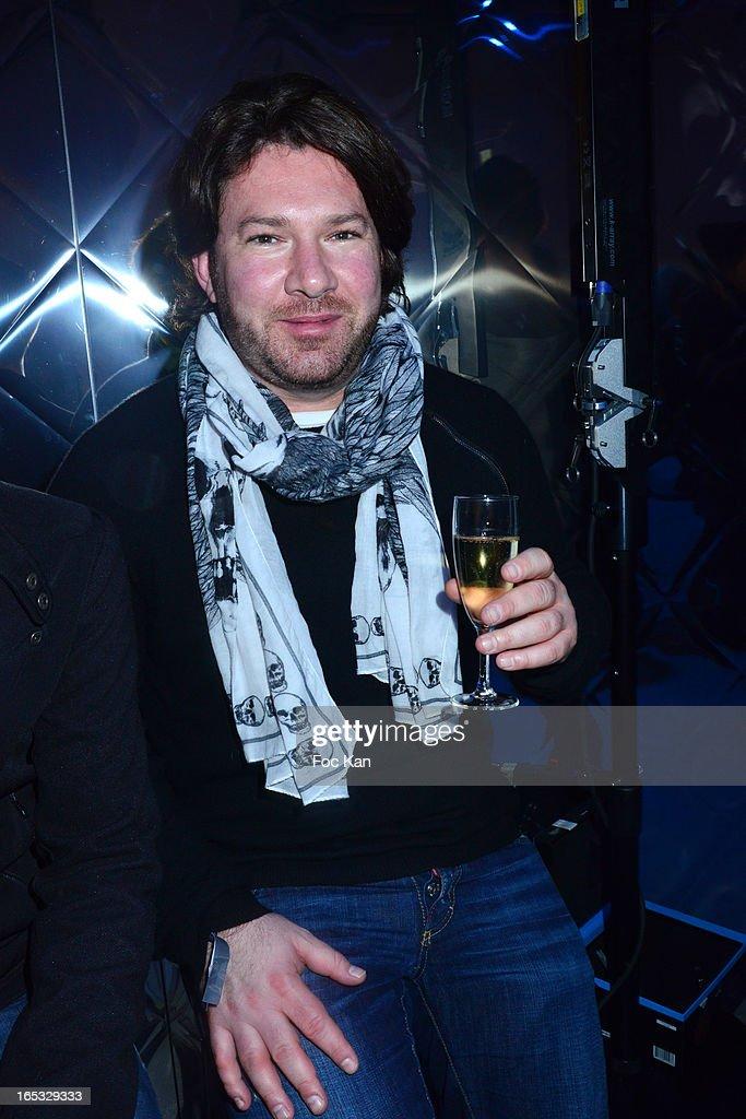 DJ Cutee B. attends the 'Paris By Night' Bob Sinclar CD Launch Concert Party At La Gaite Lyrique on April 2, 2013 in Paris, France.