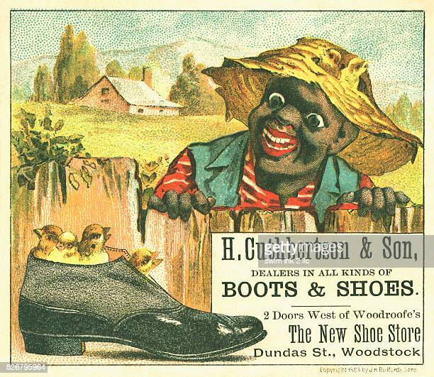 H Cuthbertson Son Boots Shoes Trade Card