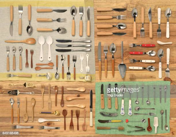 Cutlery knolling style