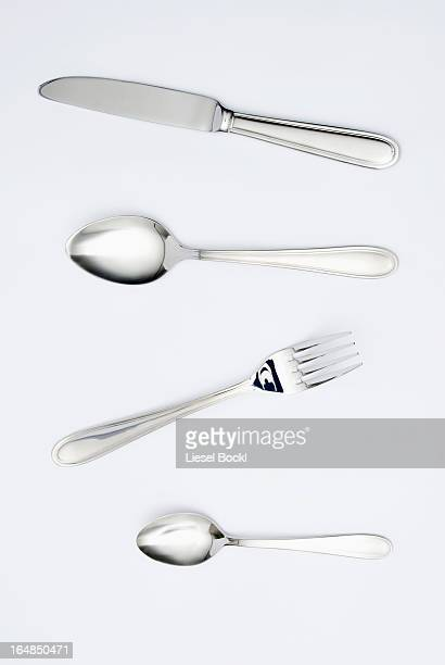 cutlery - silverware stock pictures, royalty-free photos & images