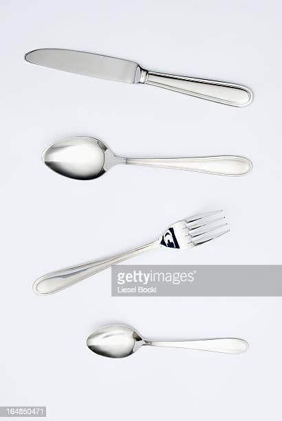 cutlery - faca faqueiro - fotografias e filmes do acervo