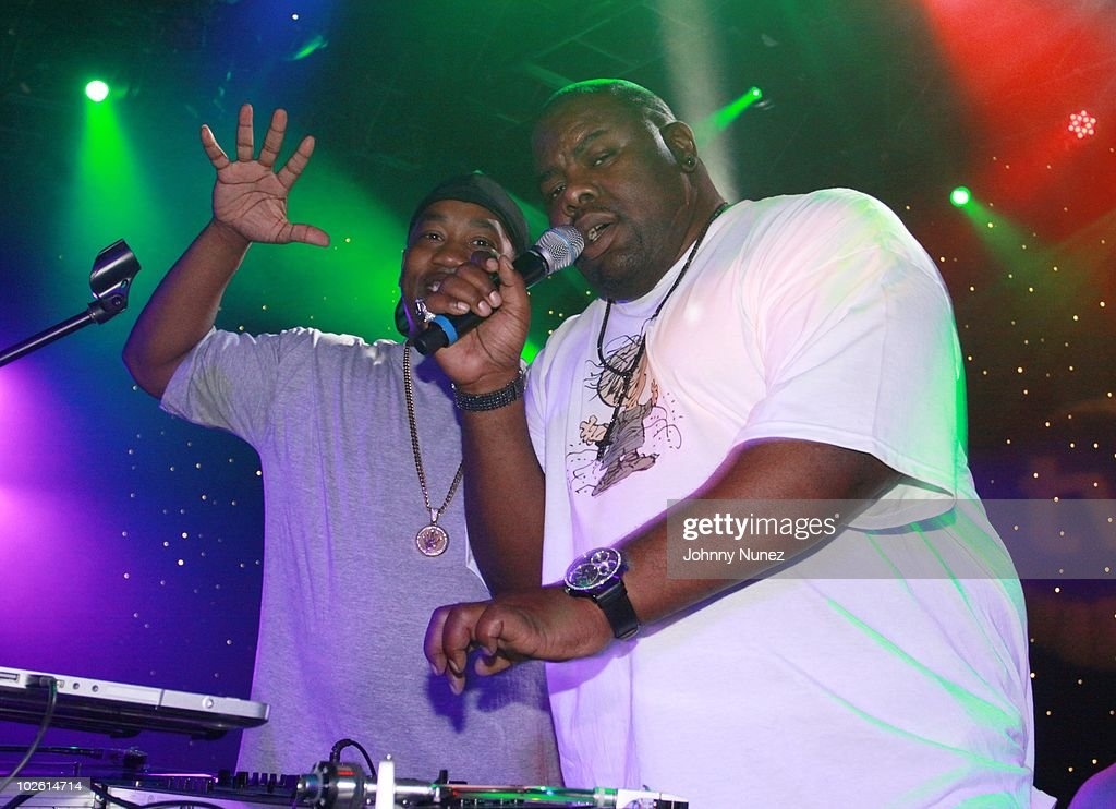 Cutmaster Cool V and Biz Markie attend the Tom Joyner Foundation party at Harrah's Casino on July 3, 2010 in New Orleans, Louisiana.